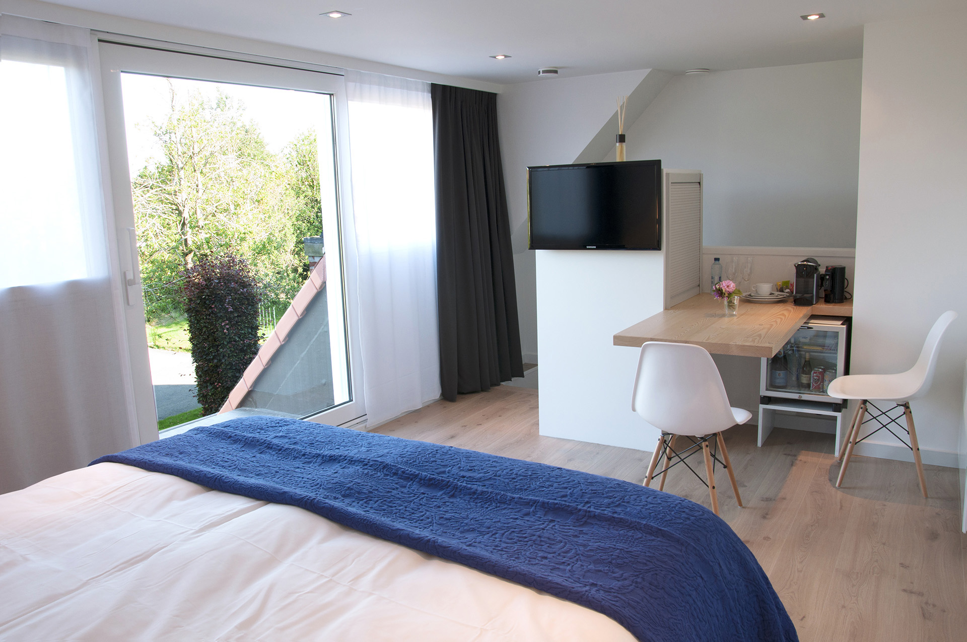 overnachten in bed & breakfast Aquavit in Knokke